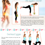 Printable Deadlift and Lunges Moves