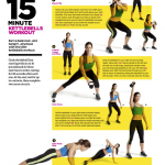 15-Minute Kettlebells Workout For Women: Printable