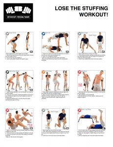 Various kettlebell workouts for men