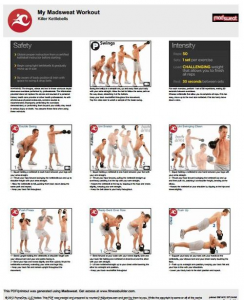 Mens Killer Kettlebell Workouts Free Printable