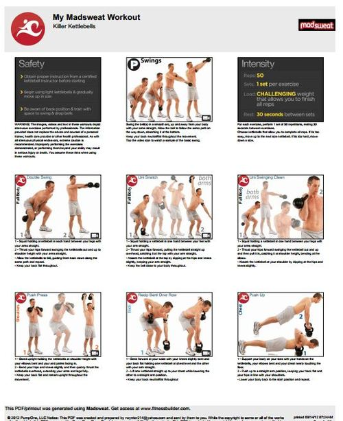 Free Printable Killer Kettlebell Workouts For Men