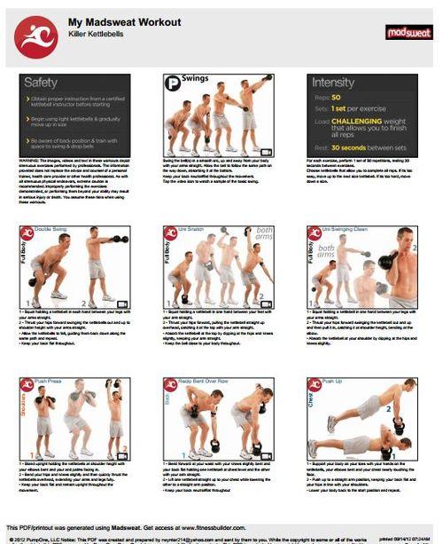 free printable killer kettlebell workouts for men