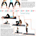 Free Printable Kettlebell Workouts: One Arm Swings & Turkish Getup